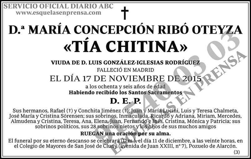 María Concepción Ribó Oteyza